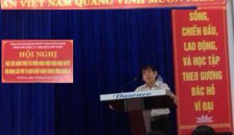 Hội nghị học tập, quán triệt và triển khai thực hiện Nghị quyết hội nghị lần thứ 10 Ban chấp hành Trung ương Đảng(khóa XI).