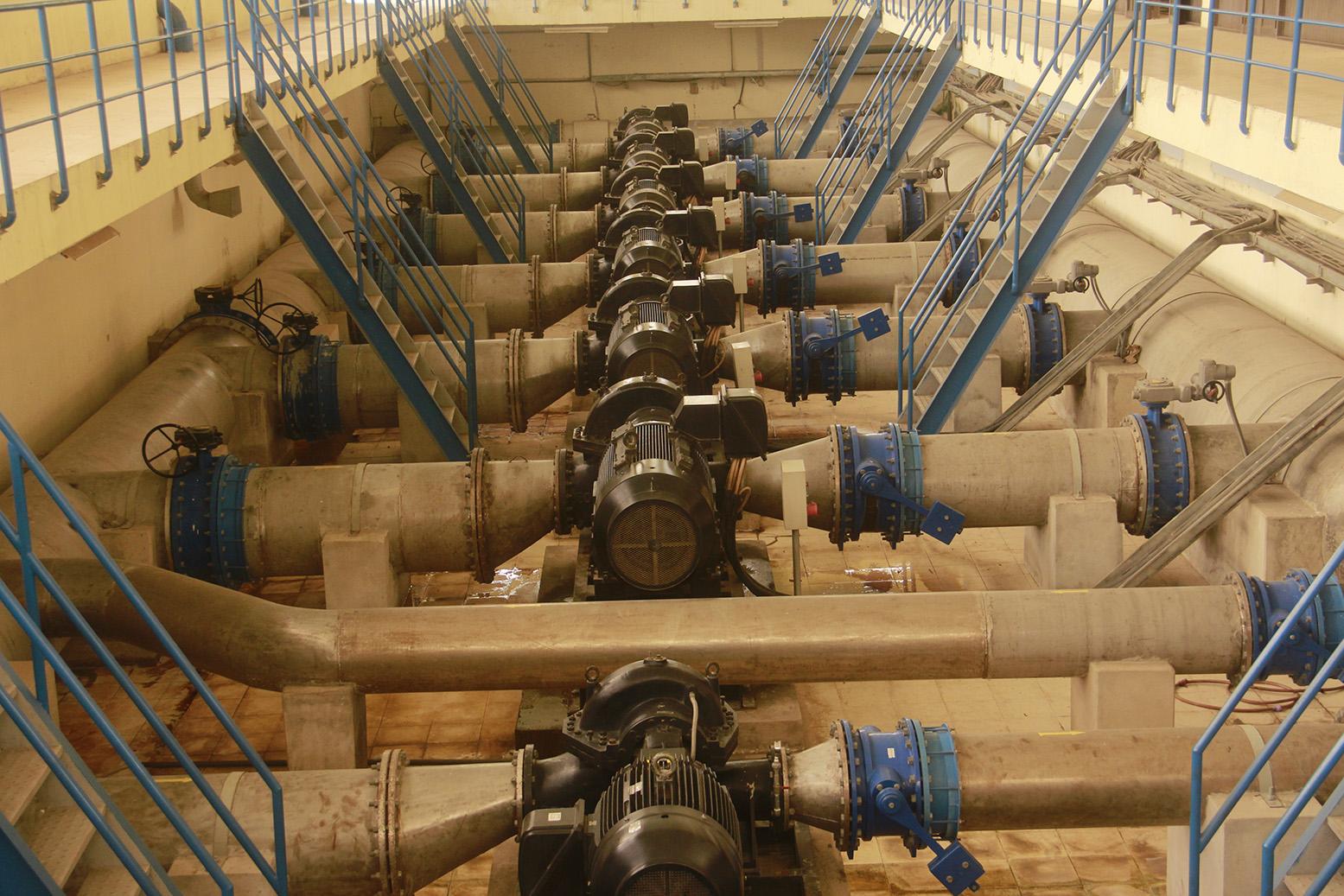 Trạm bơm Cấp 1 - Nhà máy nước Cầu Đỏ