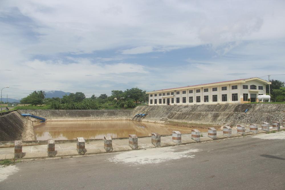 Hồ Sơ Lắng - Nhà máy nước Cầu Đỏ