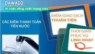 Dawaco thông báo đến Quý khách hàng trên địa bàn quận Thanh Khê về việc không thu tiền nước tại địa chỉ khách hàng.