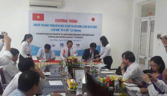 Dawaco tổ chức lễ khánh thành dự án mẫu cơ chế tín chỉ chung JCM
