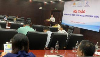 Tìm kiếm giải pháp cho cấp nước, thoát nước của đô thị Đà Nẵng.