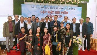 Gặp mặt Câu lạc bộ hưu trí Cấp nước Đà Nẵng cuối năm 2019