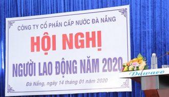 Hội nghị người lao động tại Dawaco năm 2020.