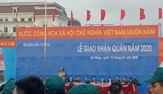 Đà Nẵng tổ chức Lễ giao nhận quân năm 2020.