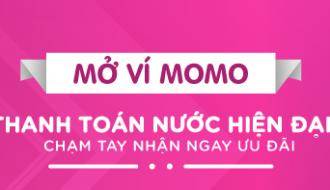 THANH TOÁN TIỀN NƯỚC QUA VÍ MOMO: AN TOÀN PHÒNG DỊCH – NHẬN QUÀ ĐẾN 500.000Đ