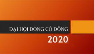 Đại hội Cổ đông thường niên 2020