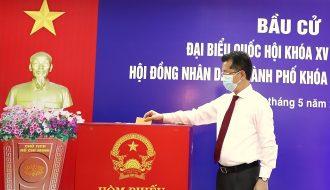 Hơn 750.000 cử tri Đà Nẵng đi bầu cử